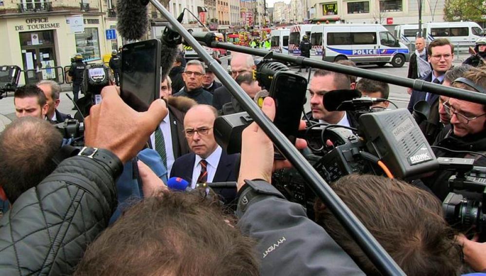 El ministro francés de Interior, Bernard Cazeneuve.