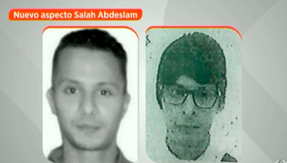 Así podría ser la nueva imagen de Salah Abdeslam