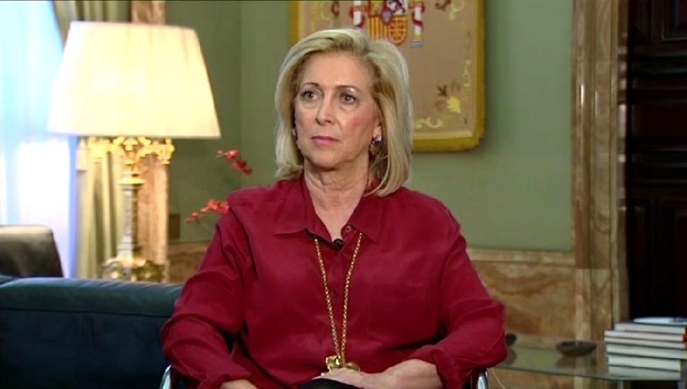 Concepción Dancausa, delegada del Gobierno de Madrid, en Espejo Público