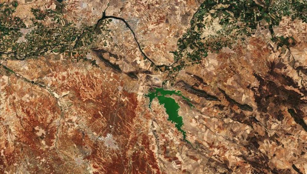 Imagen satelital multicolor de Mérida