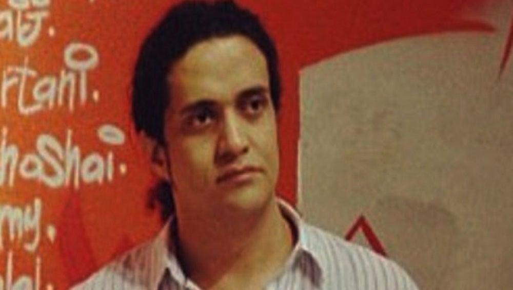El poeta Ashraf Fayadh