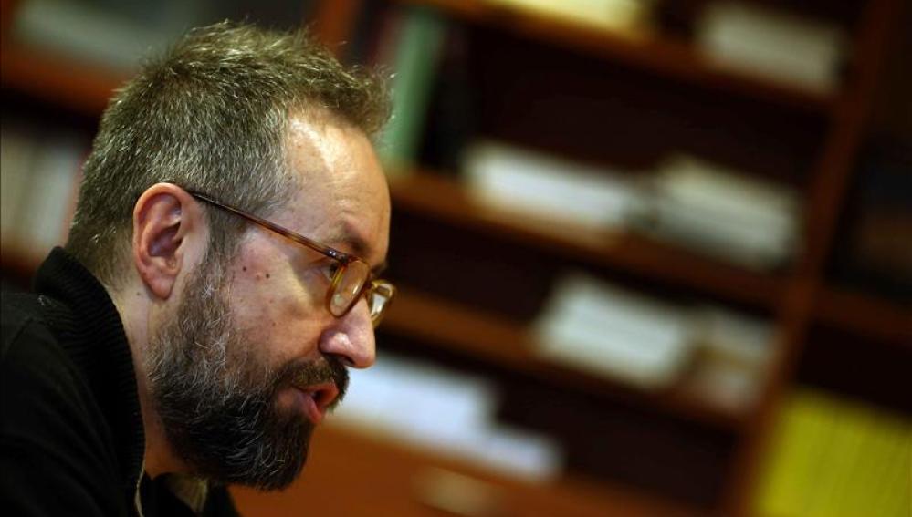 El cabeza de lista de Ciudadanos por Barcelona, Juan Carlos Girauta