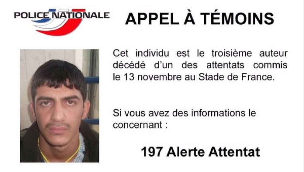 Fotografía publicada por la Policía francesa en su cuenta de Twitter