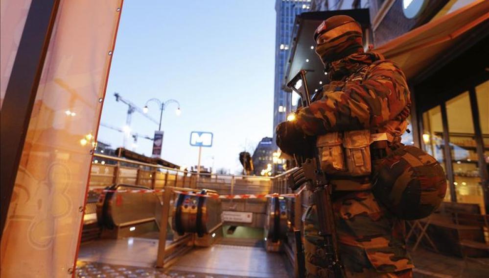 Redadas terroristas en Bélgica
