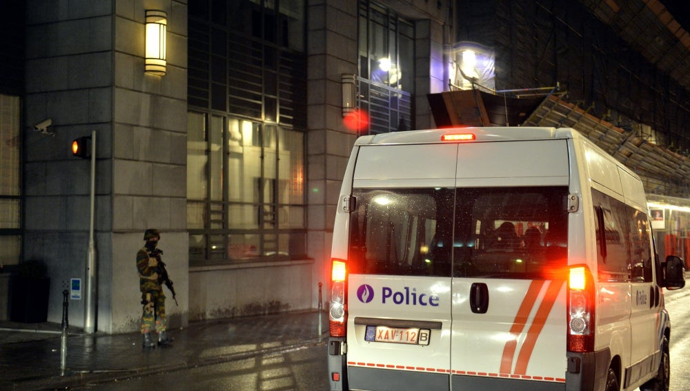 Estado de alerta en Bruselas