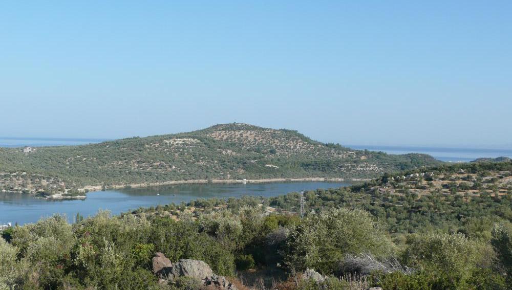Península donde podría descansar la antigua ciudad de Kane