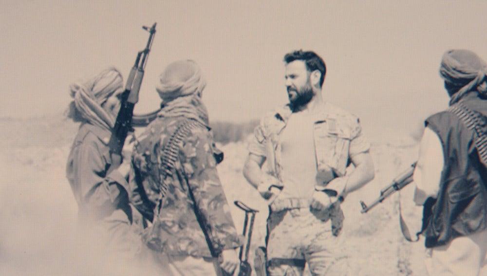 Pablo con yihadistas