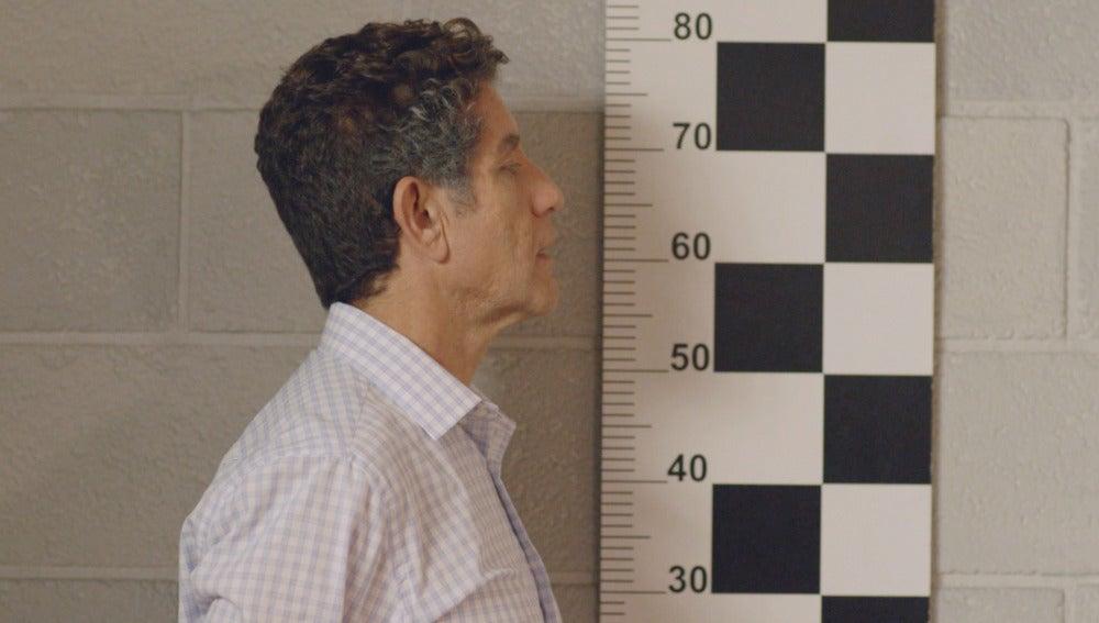 Juan Rueda, detenido