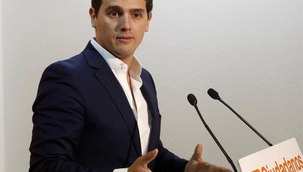 Albert Rivera tras presidir la Ejecutiva de Ciudadanos