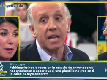 Cristina Cubero y Eduardo Inda