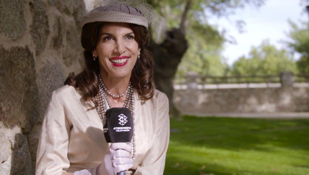 """Pastora Vega: """"Es la primera vez que soy madrina tanto en la vida real como en la ficción"""""""