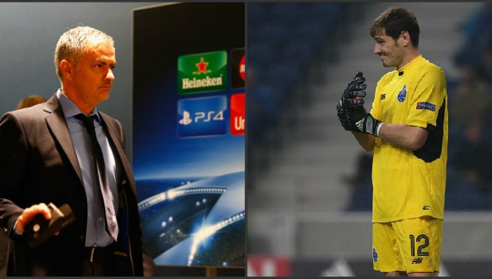 Mou y Casillas