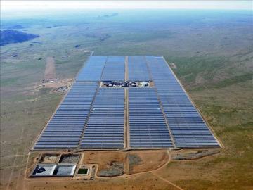 Planta Kaxu Solar One de Abengoa, en Pofadder (Sudáfrica)