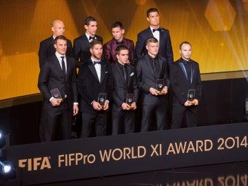 El once de la FIFA de 2014