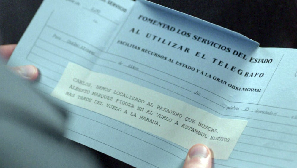 La carta que confirma que Alberto está vivo