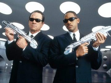 Tommy Lee Jones y Will Smith en 'Men in Black'