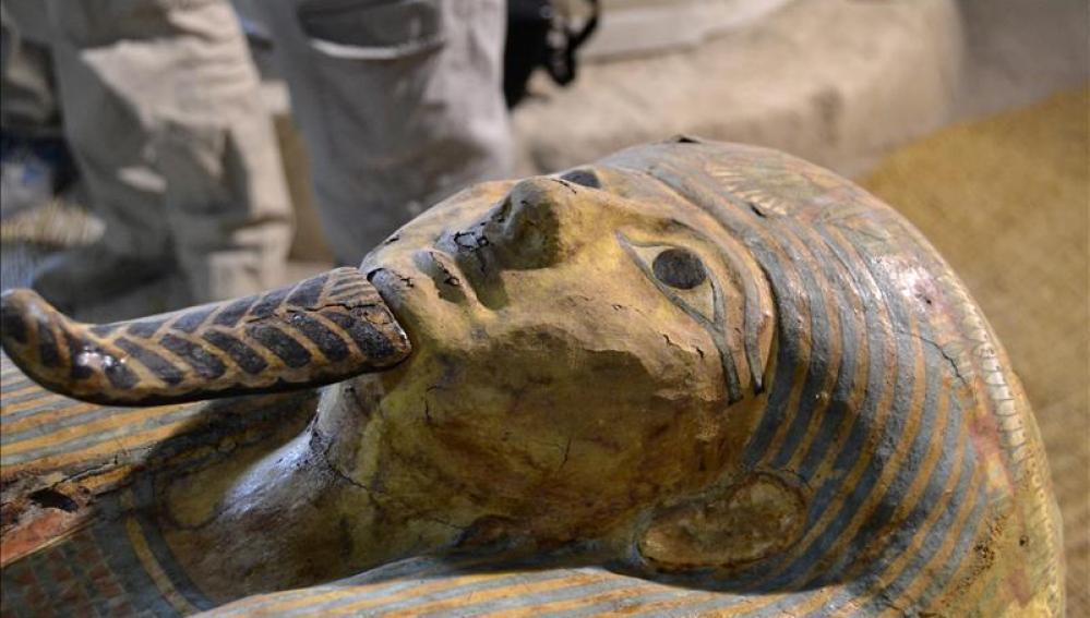 Tumba de un sacerdote del dios Amón Ra, de hace unos 3.000 años