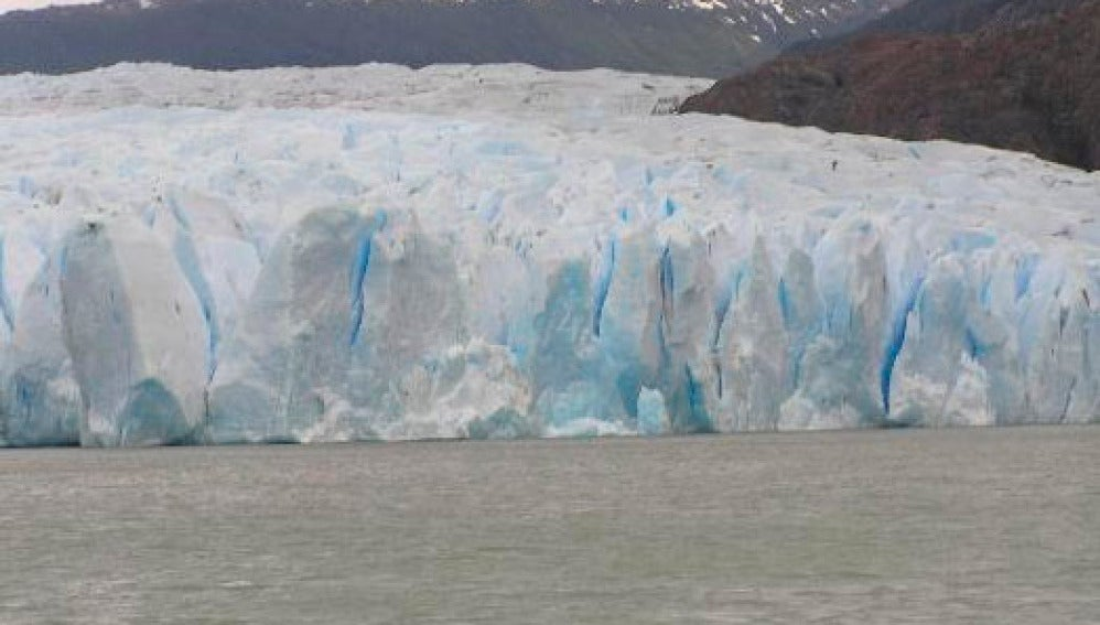 Glaciar Grey, en Chile