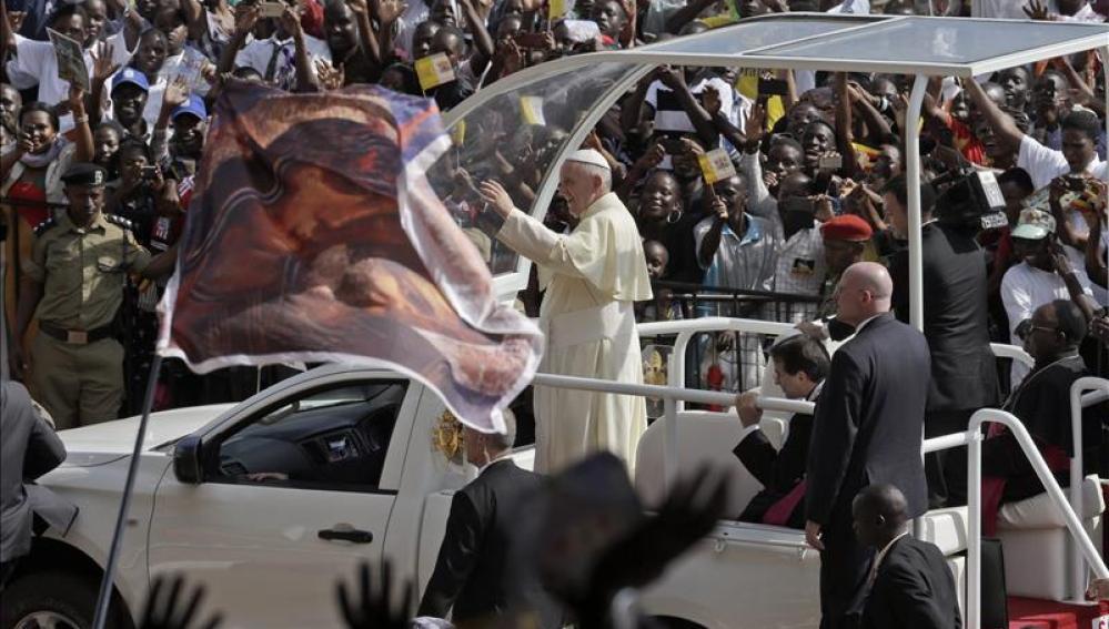 El Papa Francisco en Uganda