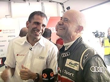 Gené y Lobato, con Audi
