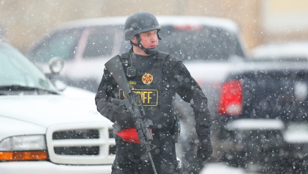 Oficial del departamento del sheriff de Colorado tras el tiroteo en la clínica