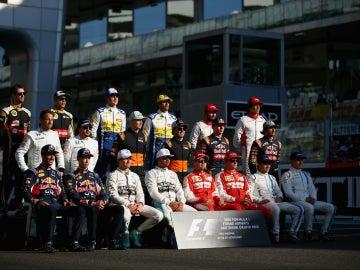 Foto de final de temporada de la F1 2015