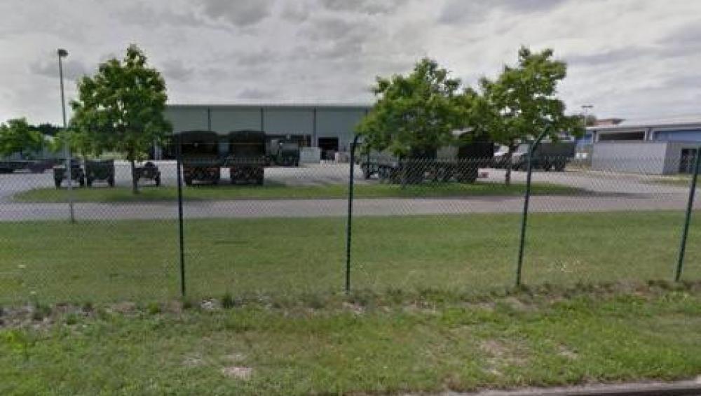 Cuartel militar en Louvain