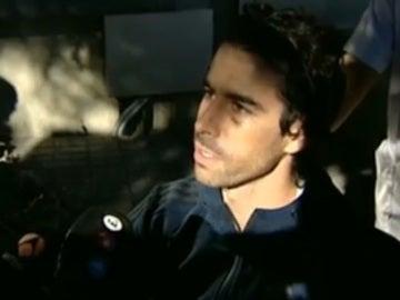 Tiago, a su salida del hospital