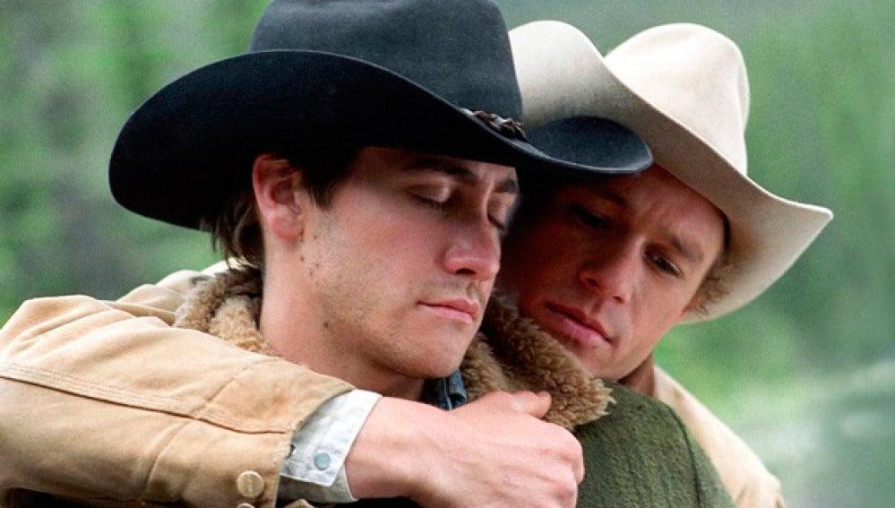 Heath Ledger y Jake Gyllenhaal en 'Brokeback Mountain'
