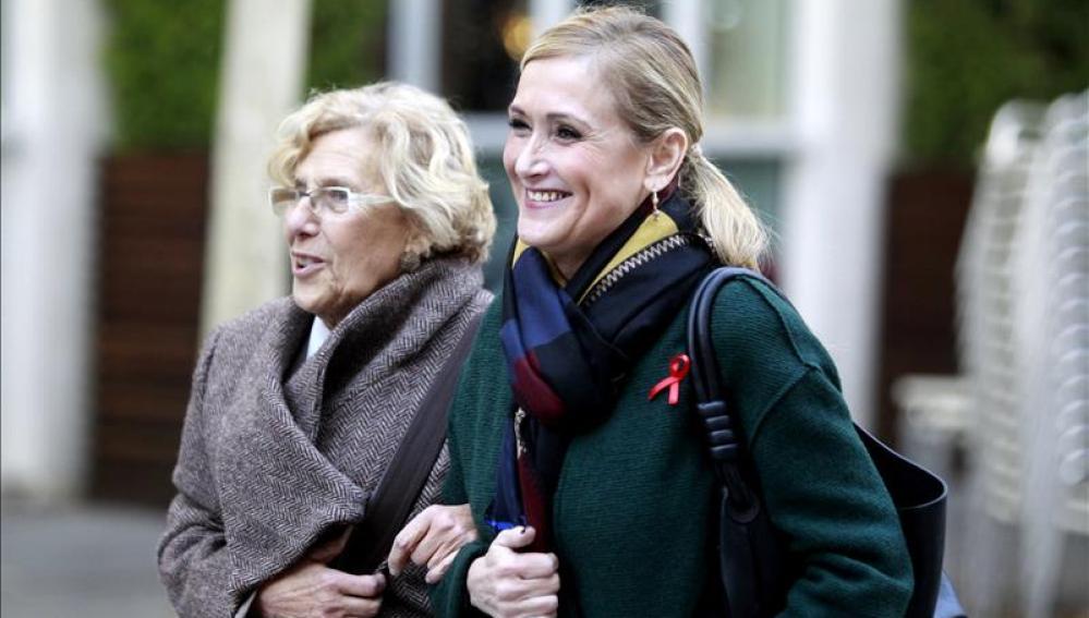 Cifuentes y Carmena juntas por Madrid
