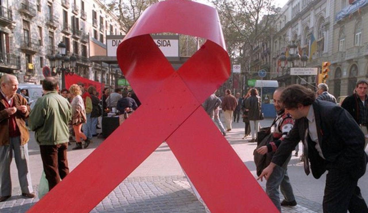 Lazo por el día mundial del SIDA