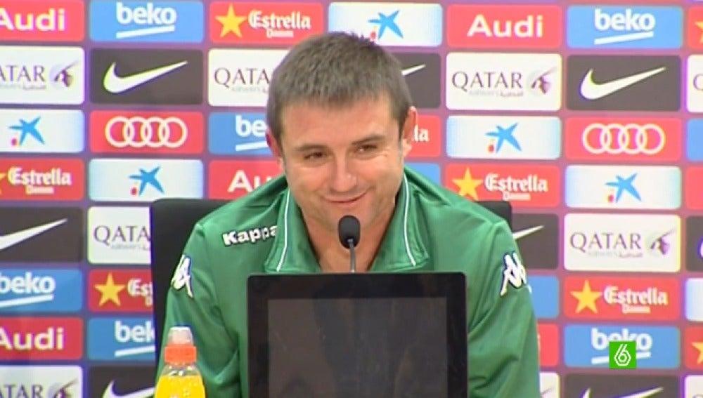 Julio Cobos, entrenador del Villanovense