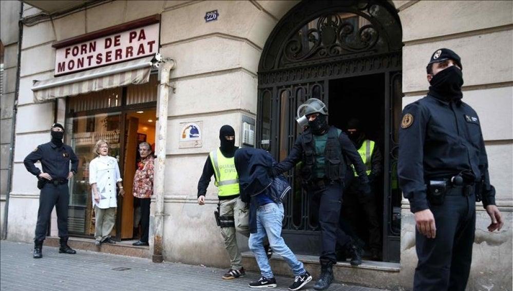 Uno de los tres presuntos yihadistas detenidos por la Guardia Civil