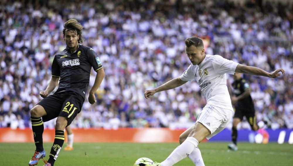 Denis Cheryshev, durante un partido con el Real Madrid