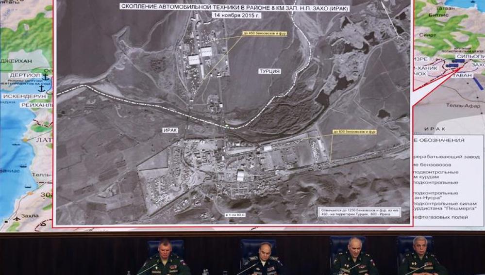 Rusia acusa a Turquía en rueda de prensa