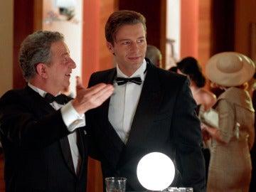 El hijo de Enzo aparece en la presentación de las joyas Velvet
