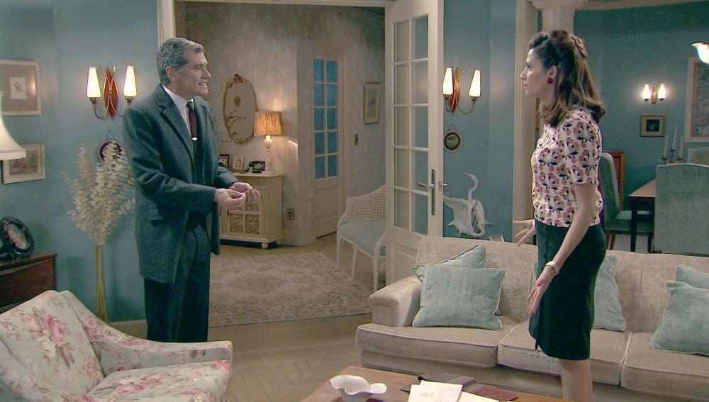 Eugenio da un ultimátum a Adela para que solicite la nulidad matrimonial