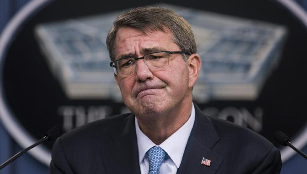 El secretario de Defensa de Estados Unidos, Ashton Carter
