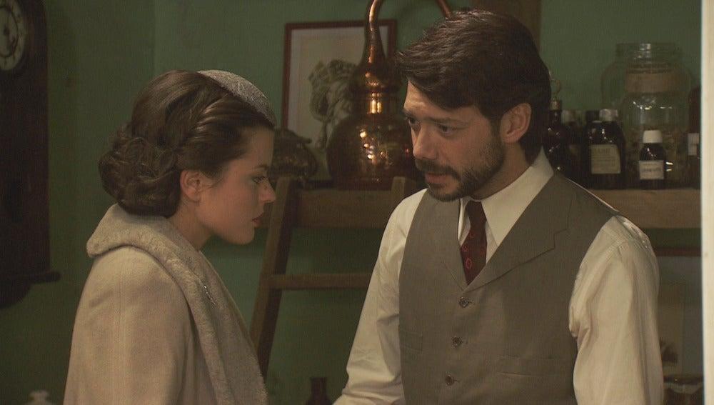 Con la llega de Carmelo, Sol pone fin a su romance   con Lucas