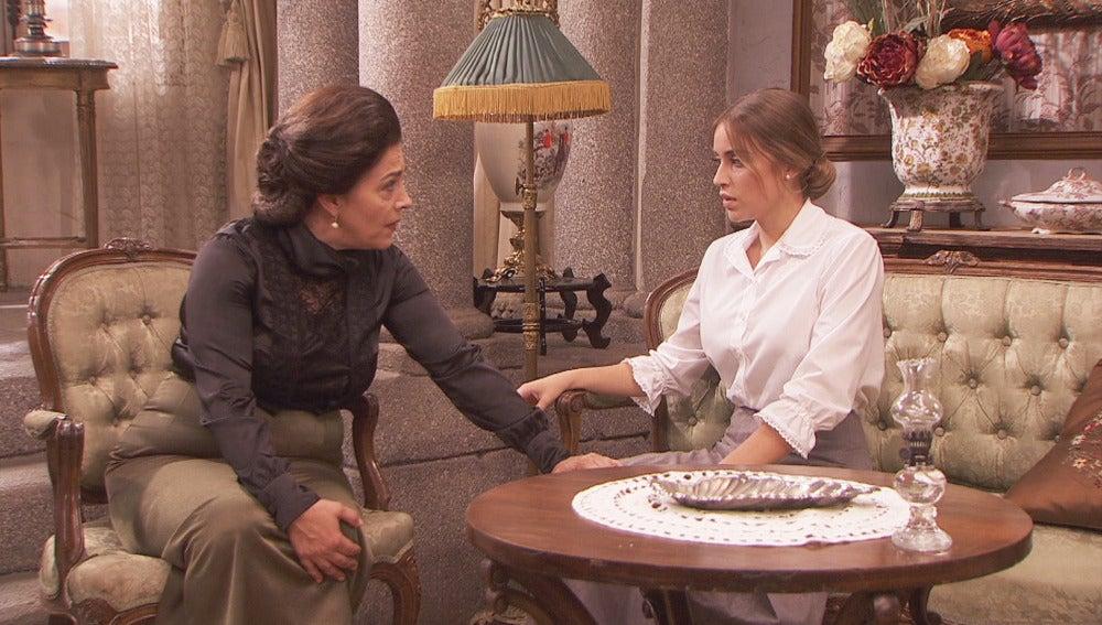 Francisca asegura a Berta que quien le acosa es su   hermana muerta