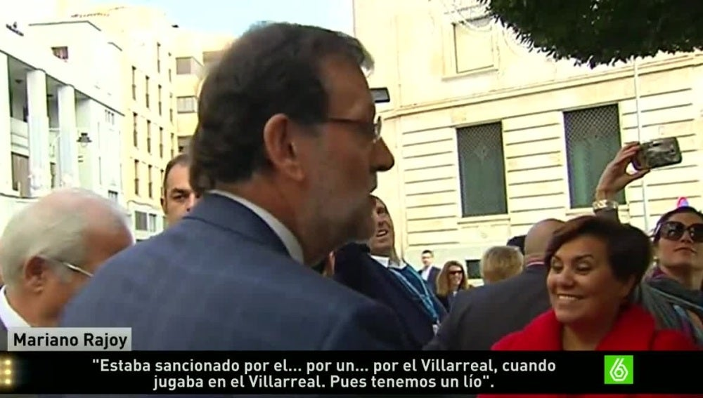 Mariano Rajoy comenta el caso Cheryshev