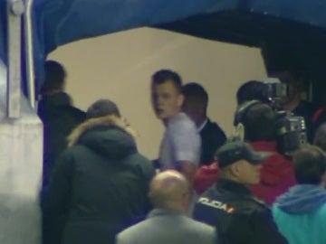 Cheryshev, retirándose a los vestuarios en el descanso del Real Madrid - Cádiz