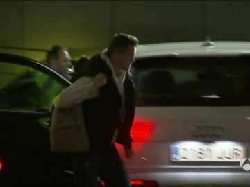 Cheryshev, cabizbajo a su llegada a la concentración del Real Madrid