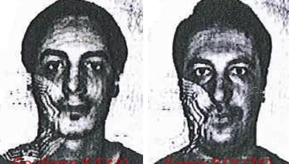 Soufiane Kayal y Samir Bouzid, relacionados con los atentados de París