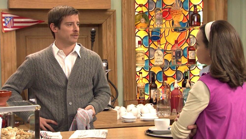 Marcelino descubre los sentimientos de María hacia Ángel