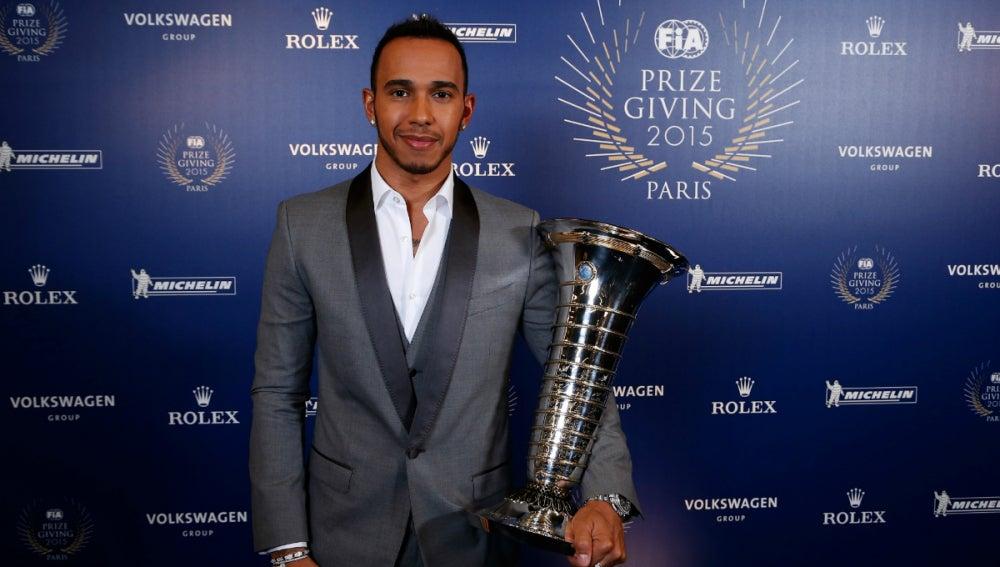 Hamilton, con su tercer Mundial