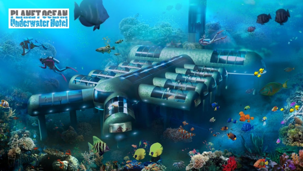 Proyecto del primer hotel submarino