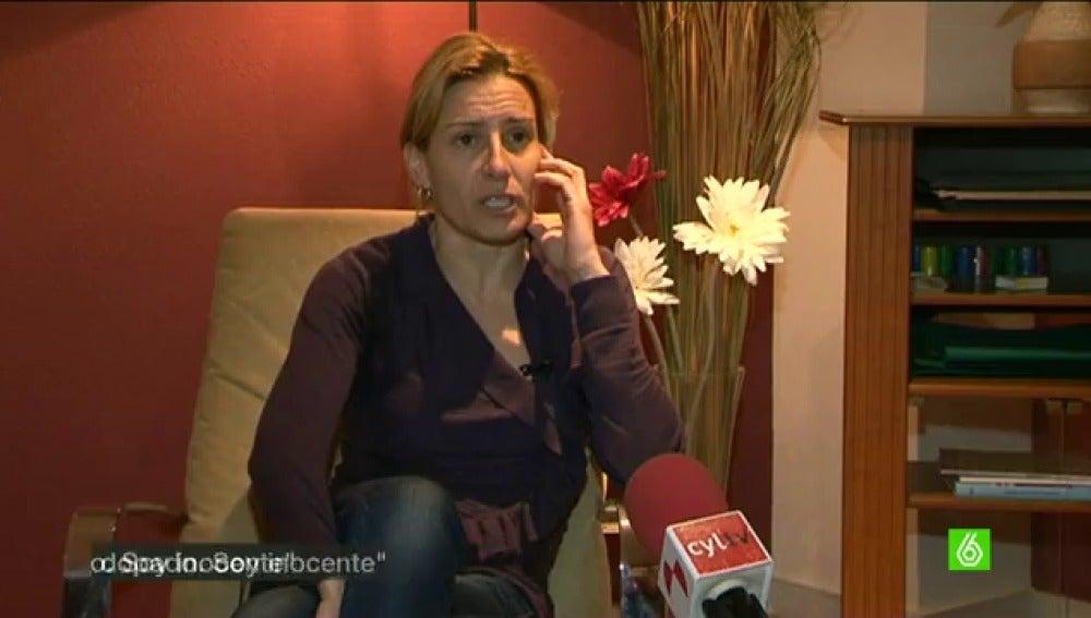 Marta Domínguez, en una entrevista