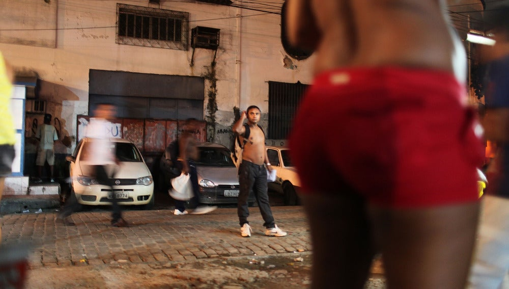 Prostitución en las calles de Río de Janeiro