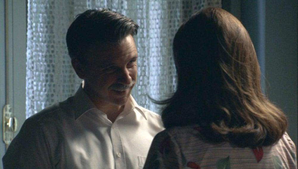 Adela y el capitán Contreras se dejarán llevar por sus sentimientos